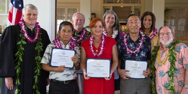 Hawaii Early Intervention Coordinating Council Members Sworn In